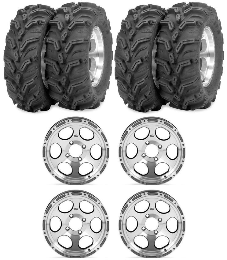 ITP C-Series type 7 Wheel kit with ITP Mud Lite XTR Tires