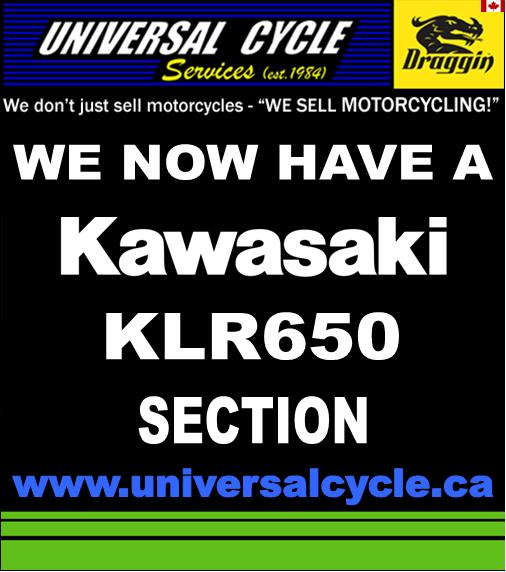 We now have a Kawasaki KLR650 section
