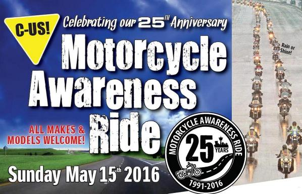 Motorcycle Awareness Ride 2016